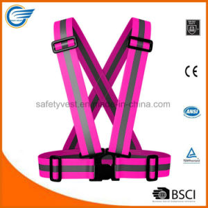 Adjustable Reflective Warning Belt for Running Cycling Walking pictures & photos