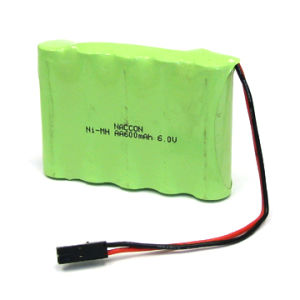 6V, NiMH AA600mAh Battery Pack (5NH-AA600) pictures & photos