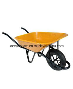 Chrome Plated Steel Tray Wheel Barrow