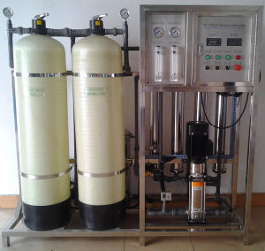 Water Treatment System/Reverse Osmosis Water Filter Plant (1000LPH) pictures & photos