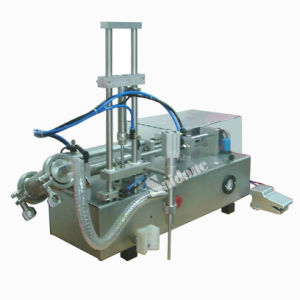 Semi-Automatic Filling Machine with Diving Nozzle pictures & photos
