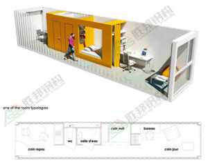 Prefabricated Container House pictures & photos