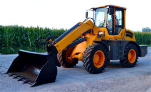 China New 1.3m3 Bucket Telescopic Boom Loader pictures & photos