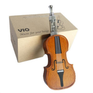 Violin Shape Health Wooden Vio Mod Electronic Cigarette, Vio Electronic Cigarette