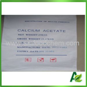 Industry Grade Calcium Acetate Anhydrous [CAS No 62-54-4] pictures & photos