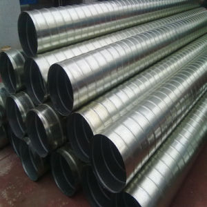 Spiral Stee Pipe with Galvanized Surface Use for Vent Tube pictures & photos