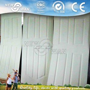 Wood Grain White Primed Door Skin / HDF Wooden Door pictures & photos