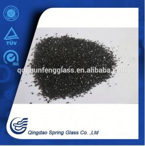 Black Crushed Glass Sands Top Quality pictures & photos
