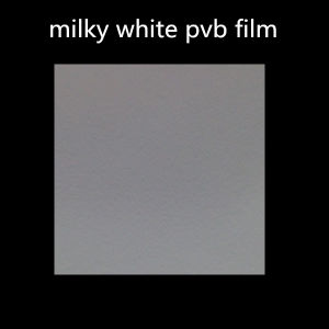 Selling 0.38mm Milky White PVB Film for Decorative Laminated Glass pictures & photos