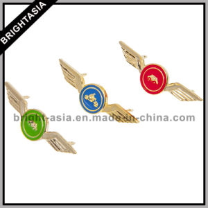 Metal Wings Lapel Pin for Comoany Custom Make (BYH-101064) pictures & photos