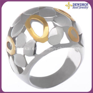 Fashion Jewelry Ring Stainless Steel Ring (SSR4140)