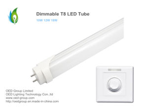 AC80-280V Dimmable T8 LED Tube 2ft with 3 Years Warranty pictures & photos