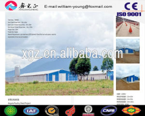 Prefab Chicken Farm/Steel Structure Prefab Multi-Floor Poultry House/Chicken House (JW-16251) pictures & photos