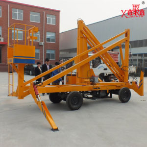 Mobile Hydraulic Truck-Mounted Aerial Work Platform pictures & photos
