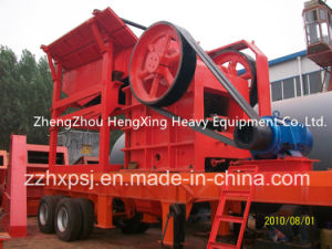 PE250*400 Diesel Engine Type Mobile Jaw Crusher Plant pictures & photos