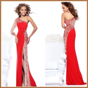 Sleeve Dress on Sexy One Sleeve Crystals Prom Dresses  Xz652    China Prom Dresses