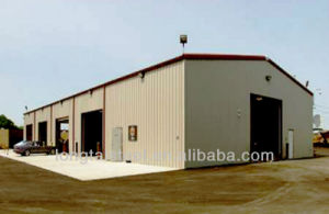 Anti Crossion Prefabricated Light Steel Frame Warehouse pictures & photos
