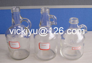 500ml European Style Oil Glass Bottles with Ear pictures & photos