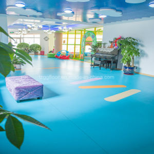 Comfort Foot Feeling 1.0mm/1.6mm/2mm/3mm Thickness Plastic PVC Vinyl Flooring pictures & photos