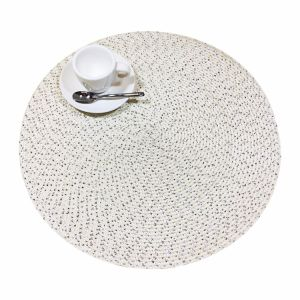 Christmas Gift 100% Polyester Woven Tablemat for Tabletop and Decoration pictures & photos