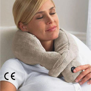 Battery Operated Travel Vibrating Wrap Neck Pillow Massage pictures & photos