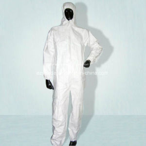 Disposable Protective Clothing Microporous Coverall Type5/ Type 6 pictures & photos