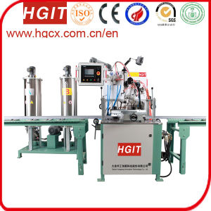 Polyurethane Potting Machine and Cutting Bridge Machine for Aluminum Profile pictures & photos