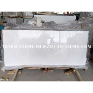 Wholesale Crystal White Stone Marble Slab for Flooring Tile, Tombstone pictures & photos