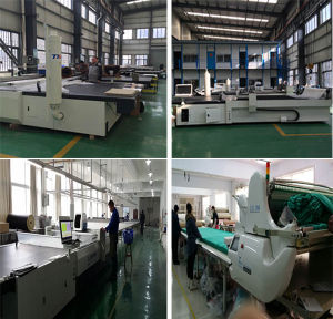 2017 Garments Suits Material Fabric Cutting Machine pictures & photos