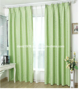 Gold Shiny Blackout Pinch Pleated Window Curtain (SZSMEBP046)