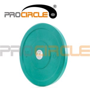 Crossfit Weight Lifting Colored Rubber Bumper Plates Weight Plates (PC-BP1012-1022) pictures & photos