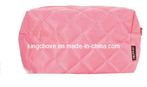 Fashio Nylon Cosmetic Bag with Stitching Decoration (KCC66) pictures & photos