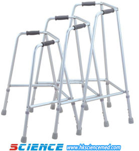 Aluminum Fixed Walker for Disable Adult (SC-WK01(A)) pictures & photos