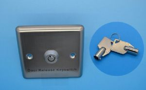 Stainless Steel Wired Key Switch Plate for Emergency pictures & photos