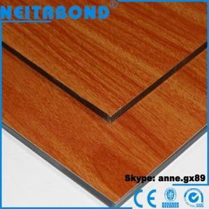 Unbreakable 4mm Wood Aluminum Composite Panel ACP pictures & photos