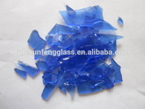 Sea Blue Flat Glass Cullet, Glass Debris pictures & photos