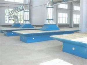 Environmental Downdraft Table Machine for Wooden