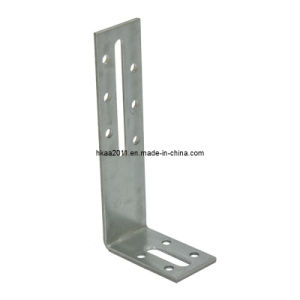 Precision Stamped Steel Adjustable Angle L Shaped Shelf Fixing Bracket pictures & photos