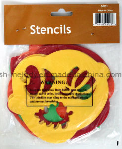 Craft PVC Stencil / Plastic Template for Papercrafts pictures & photos