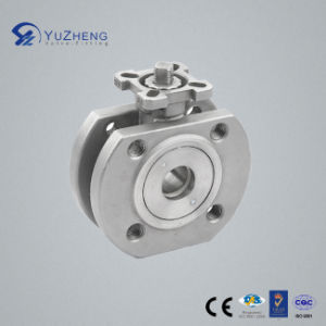 Stainless Steel Flanged Wafer Ball Valve pictures & photos