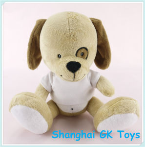 Stuffed Animals Plush Dog with T-Shirt Plush Toy pictures & photos