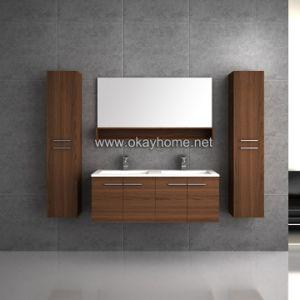 Melamine bathroom vanity cabinet 8002 60