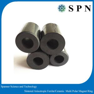 Motor Magnet Permanent Ferrite Multipole Rings pictures & photos