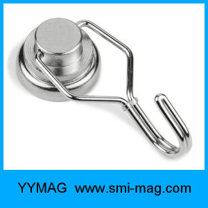NdFeB Heavy Duty Strong Neodymium Swivel Magnetic Hook pictures & photos