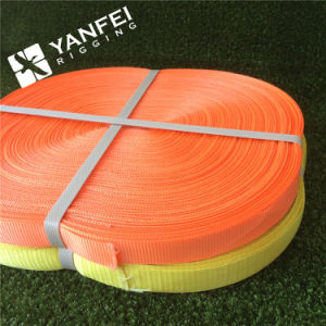 100% Polyester Ratchet Strap Webbing Material pictures & photos