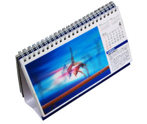 2016 Custom Design 3D Lenticular Desk Calendar Printing pictures & photos
