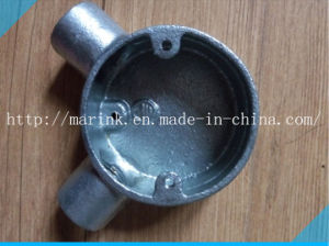 Galvanized Malleable Iron Conduit Box Bs4568/En50086 Angle Box pictures & photos