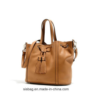 High Quality PU Tassel Hobo Bag Women Leisure Bag pictures & photos