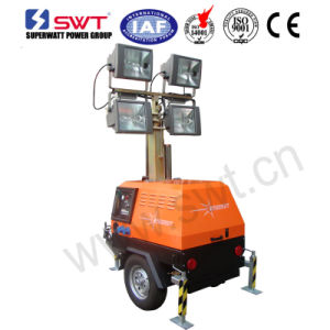 Sunight Va LED Lighting Tower with Al-Ko Suspension 7m 1600W