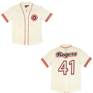 Embroidery Team Logo on Front Baseball Jersey From Dopoo pictures & photos